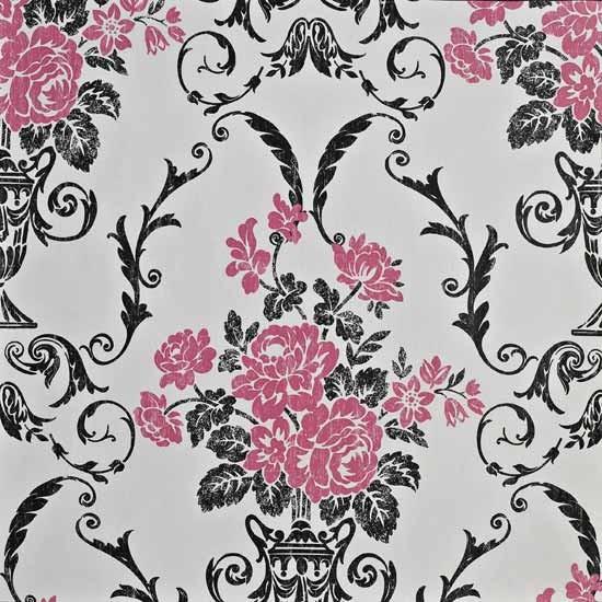 Damask wallpapers Feature wallpaper Statement wallpaper image 550x550