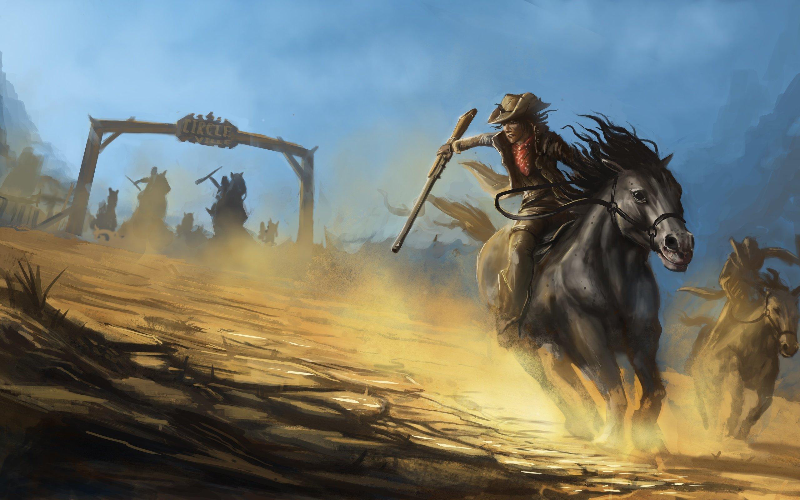 46 cowboy and western desktop wallpaper on wallpapersafari - Cowboy wallpaper hd ...