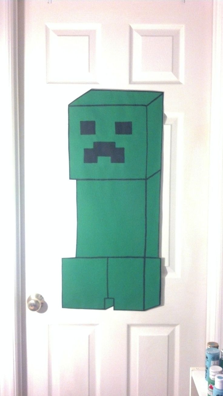 MINECRAFT BEDROOM MINECRAFT WALL DECOR kids room teenagers room or 736x1305