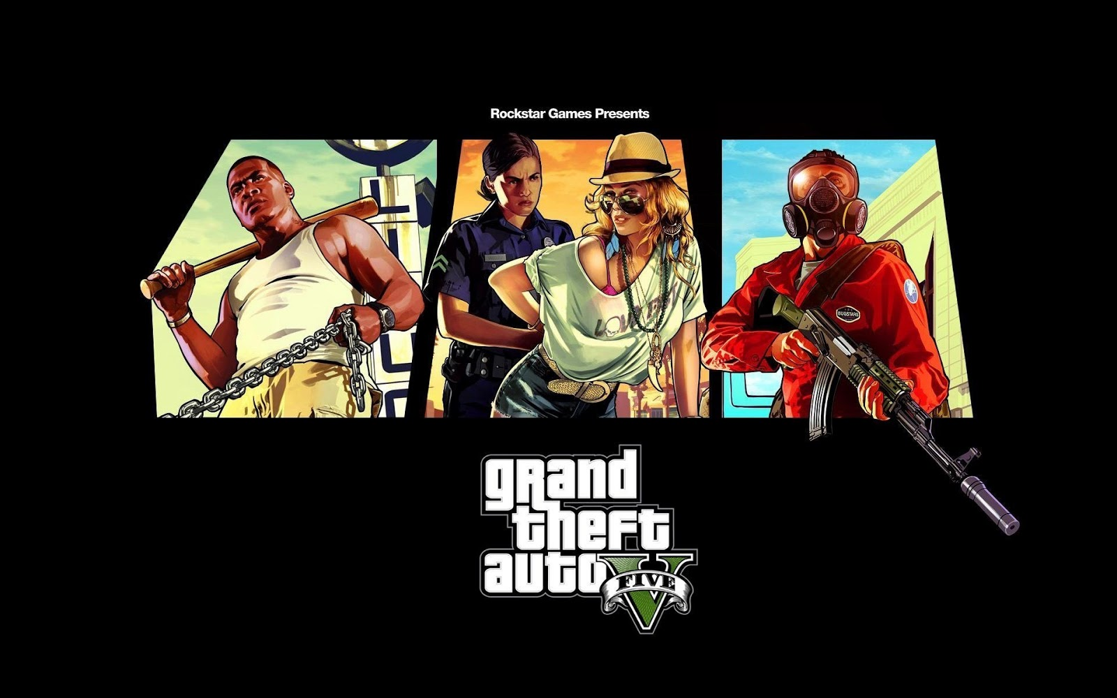 Grand Theft Auto game hd wallpapers 1600x1000