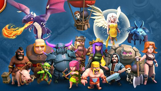 Image for Clash Of Clans Troops Wallpaper hd Clash of 564x318