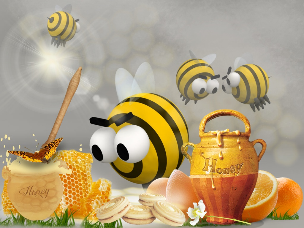 Honey Bee wallpaper   ForWallpapercom 1024x768