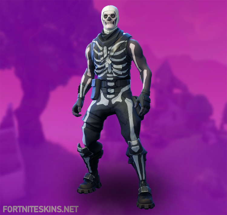 Fortnite Skull Trooper Outfits   Fortnite Skins 750x710