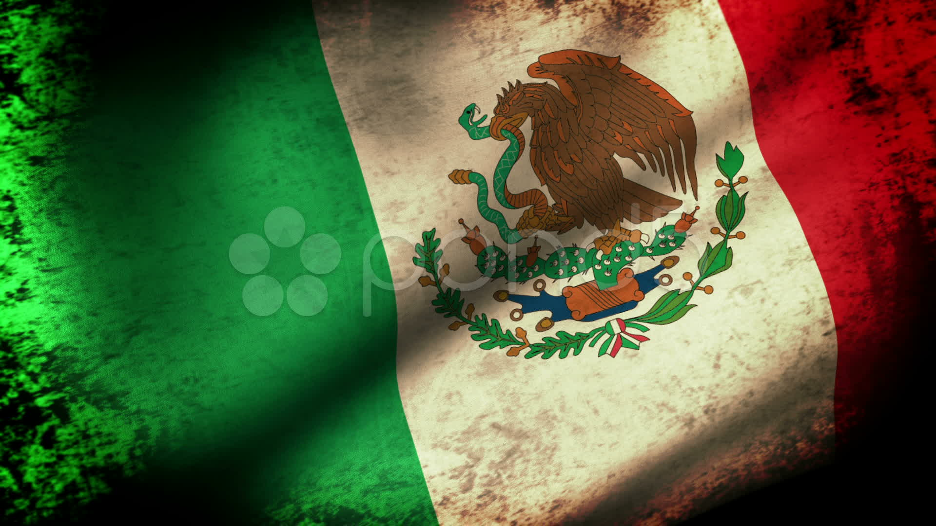 Mexican Flag Wallpaper HD Download 1920x1080