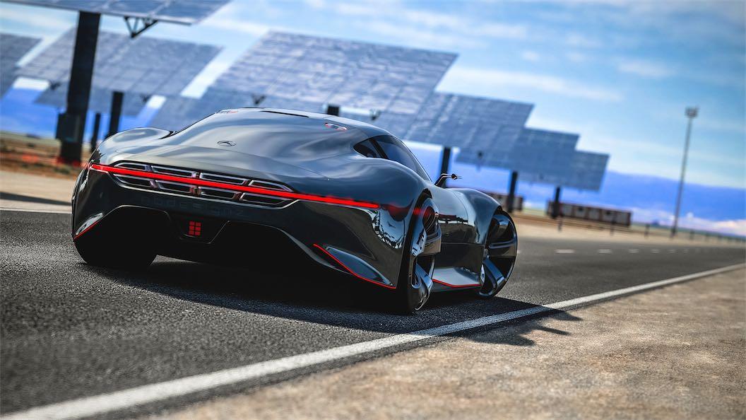 Mercedes Benz AMG Vision Gran Turismo top speed   Team Shmo 1056x594