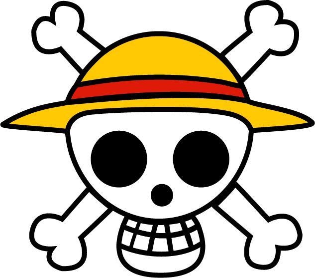 Jolly Roger de Mugiwara Luffy One Piece by KalenX 633x557