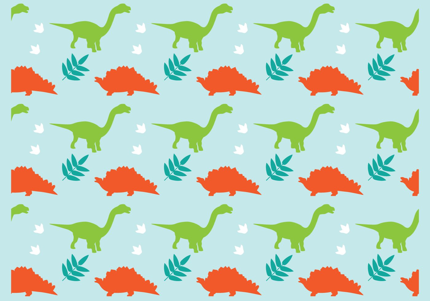 Pics Photos   Cute Dinosaurs On Black Background Printed 1400x980