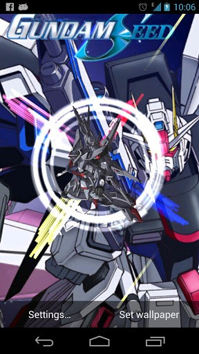 View bigger   Gundam Seed Live Wallpaper for Android screenshot 288x512