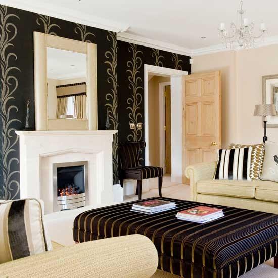 Glamorous living room Living rooms Living room ideas Image 550x550