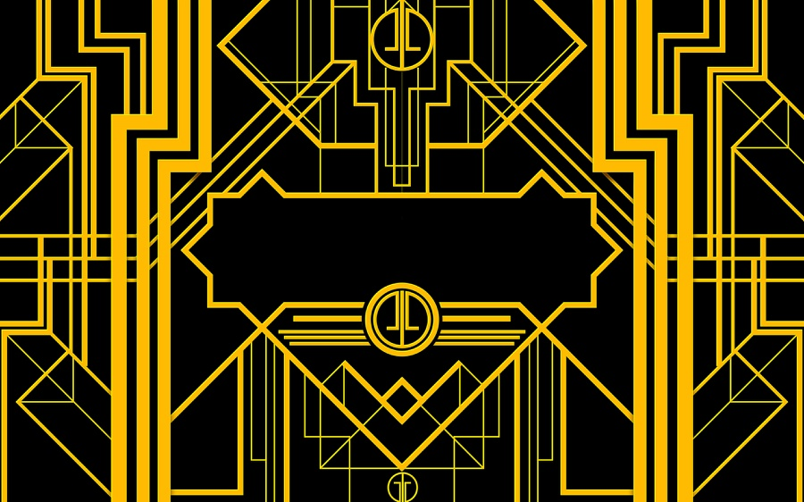 The Great Gatsby Art Deco Style in Illustrator and Photoshop 900x562