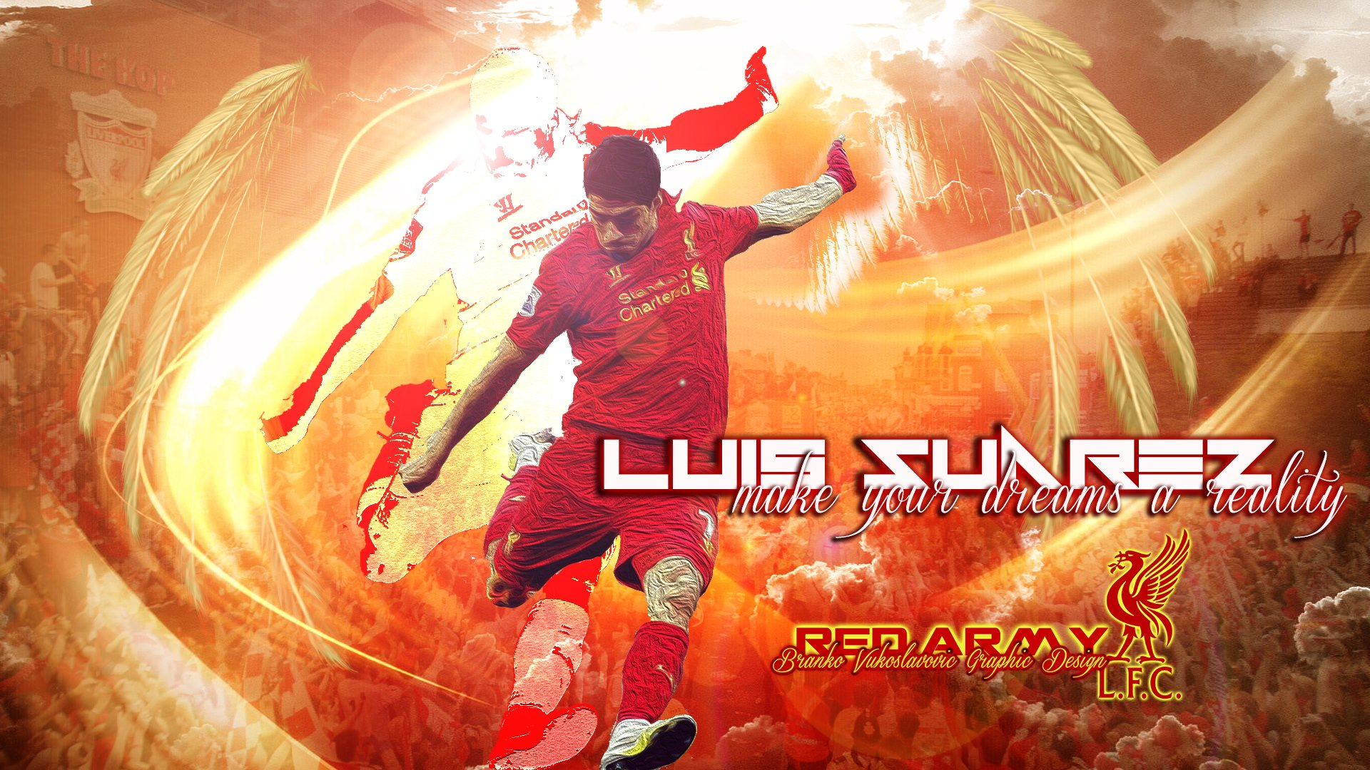 Luis Suarez Make your Dream Wallpaper   Football HD Wallpapers 1920x1080