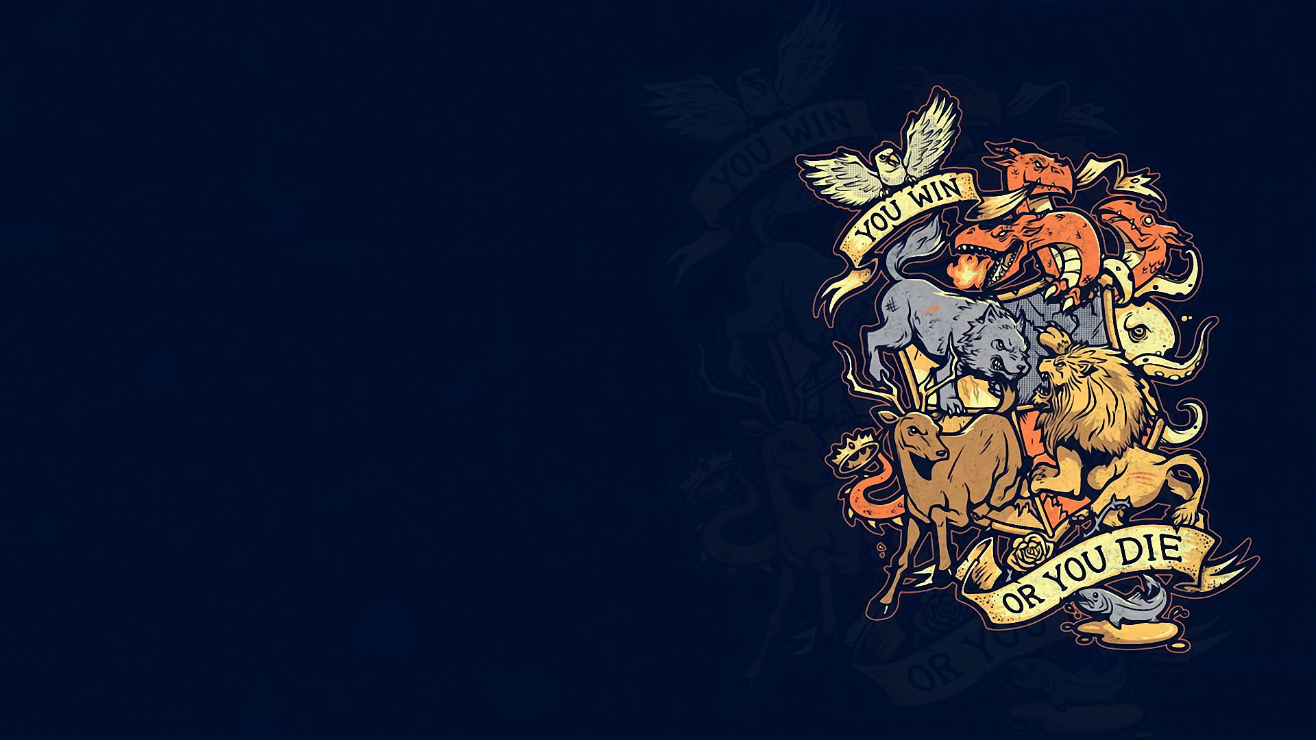 Game of Thrones fantasy crest g wallpaper 1920x1080 118284 1920x1080