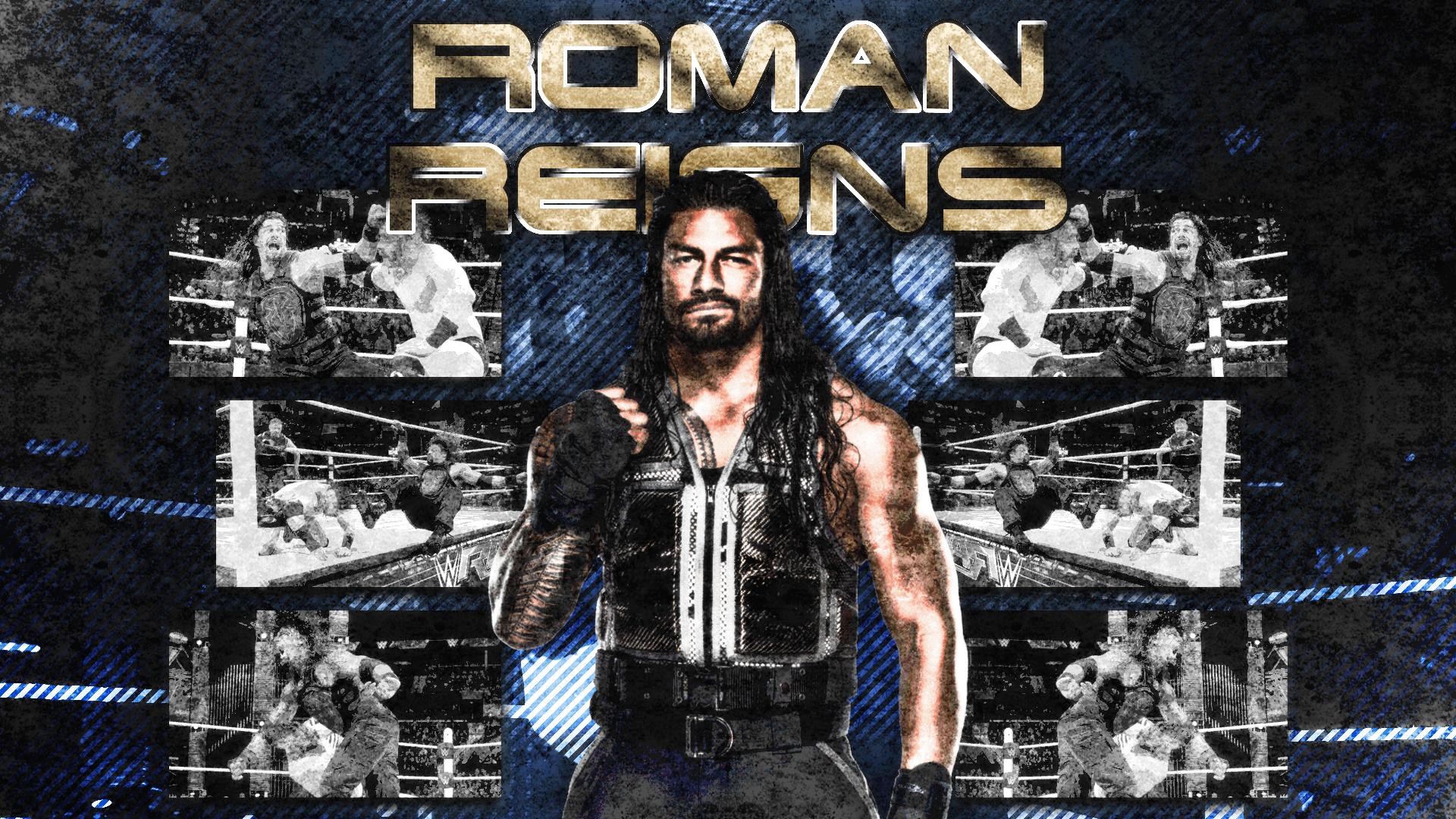 Roman Reigns Logo Wallpapers 1920x1080