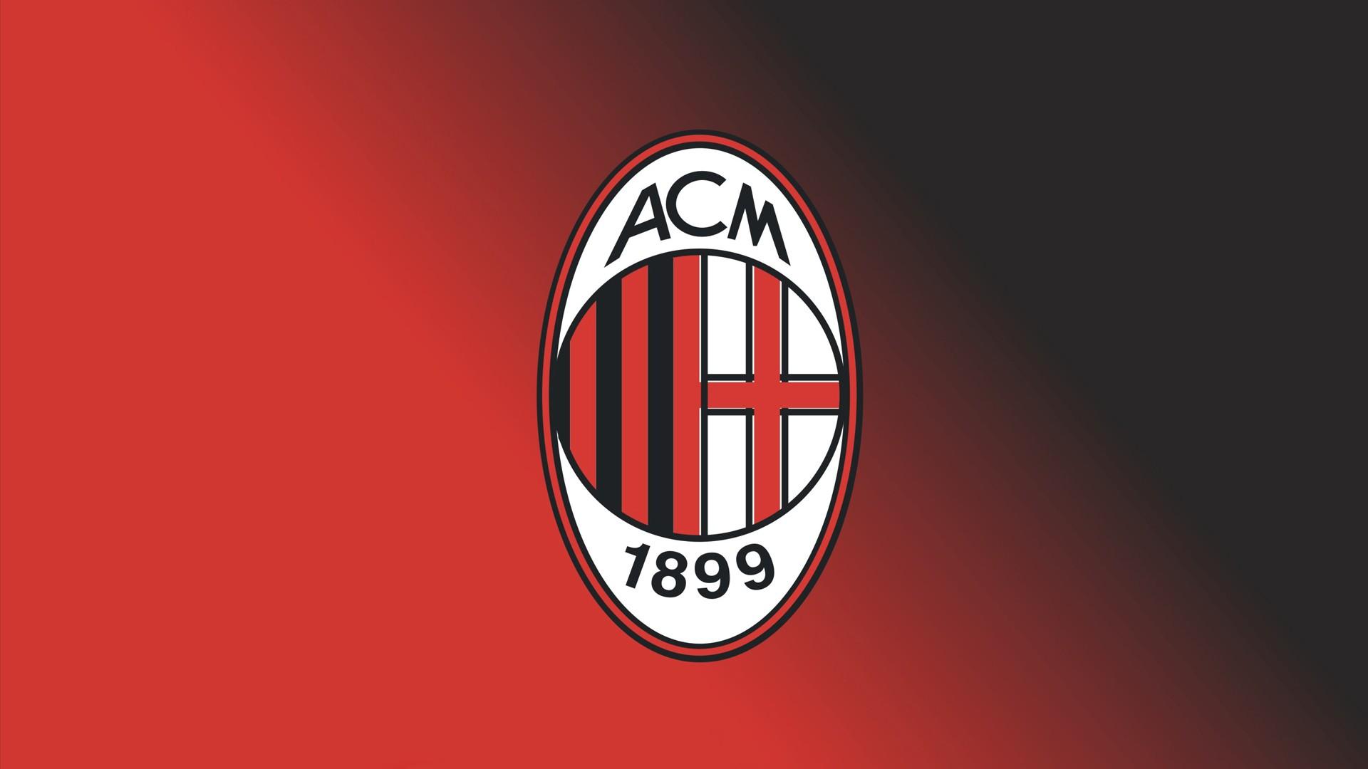 hd wallpaper AC Milan FC Football Logo FREE 4U WALLPAPERS 1920x1080