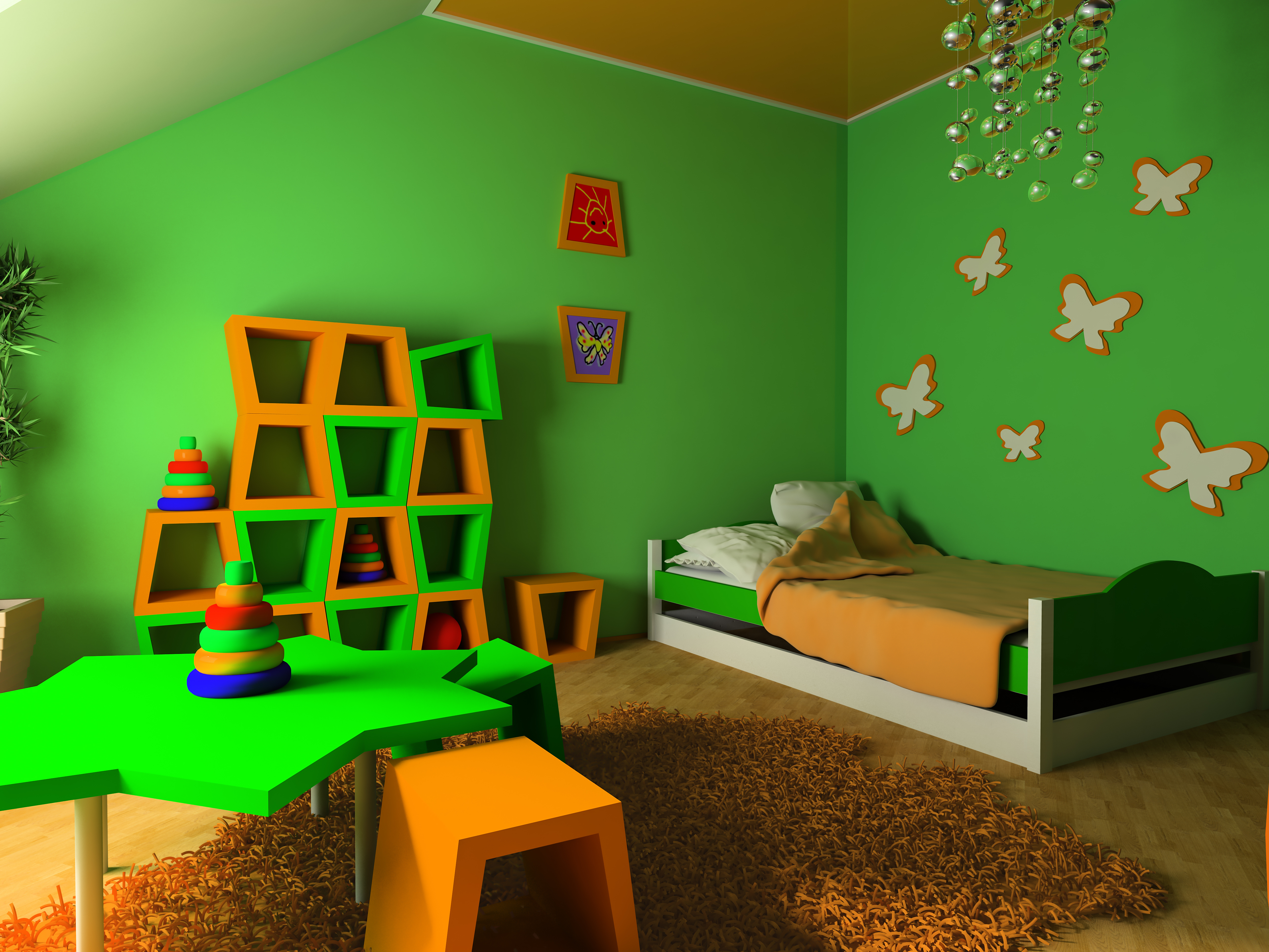 for Childrens Bedroom   Wallpaper Installation Vancouver BC 5000x3750