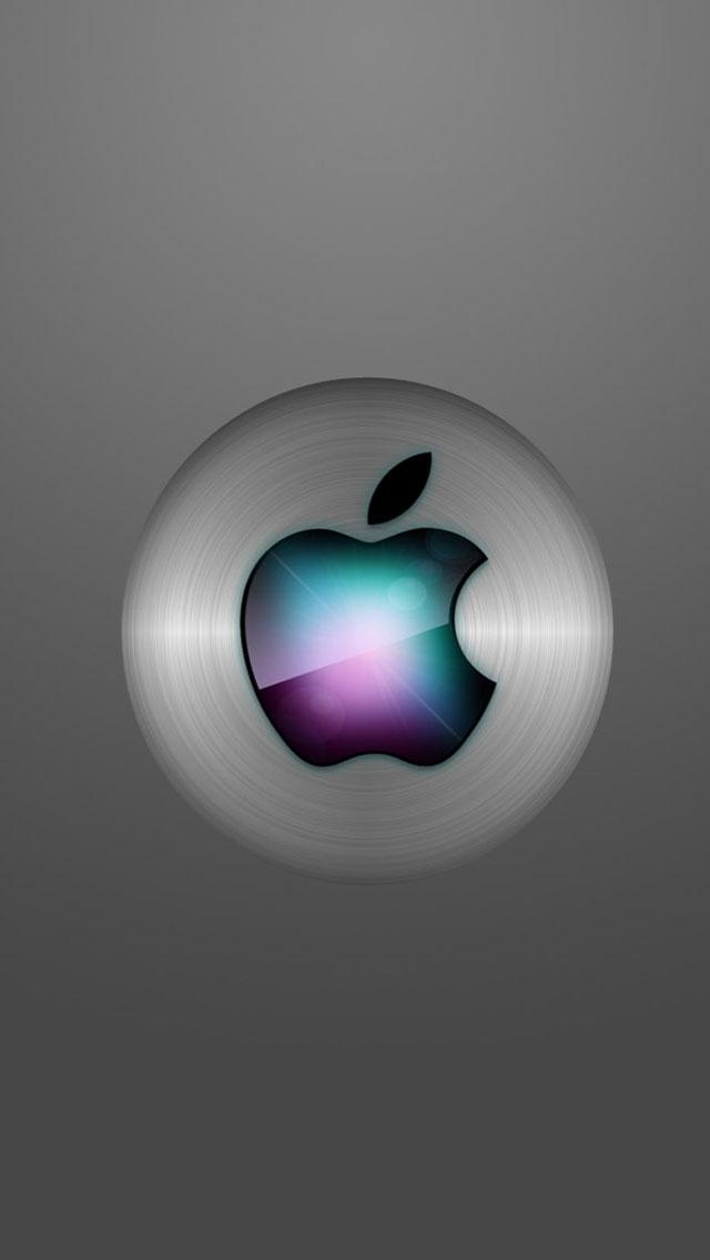 Apple Mac logo iPhone 5s Wallpaper Download iPhone Wallpapers iPad 640x1136