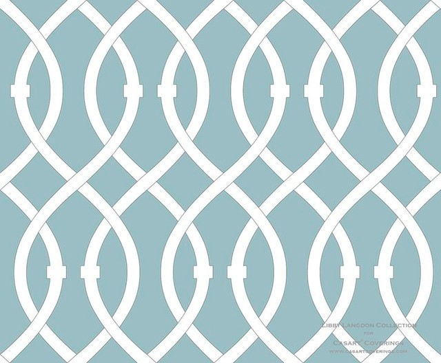 Lively Lattice   Modern   Wallpaper   dc metro   by Casart Coverings 640x528