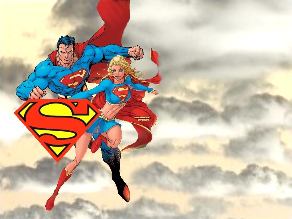 Superman and Supergirl [2004] Thanks to Freddie Crespo 1024x768