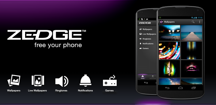 and tablets the app is developed by zedge itself zedge s brand 705x344