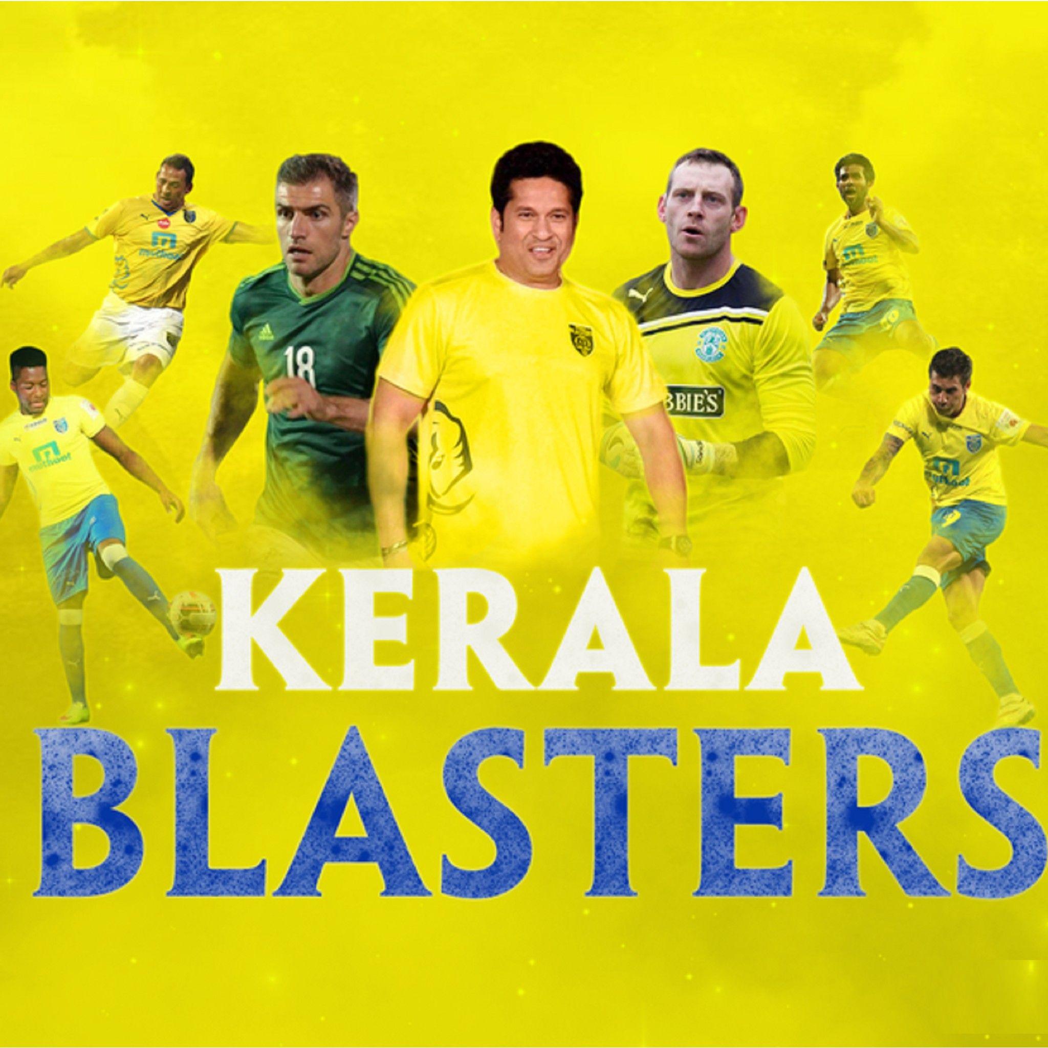 Download Kerala Blasters Team 2048 X 2048 Wallpapers   Kerala 2048x2048