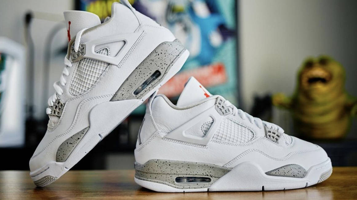 The Air Jordan 4 White Oreo Is as Clean as It Gets The Sole 1160x653