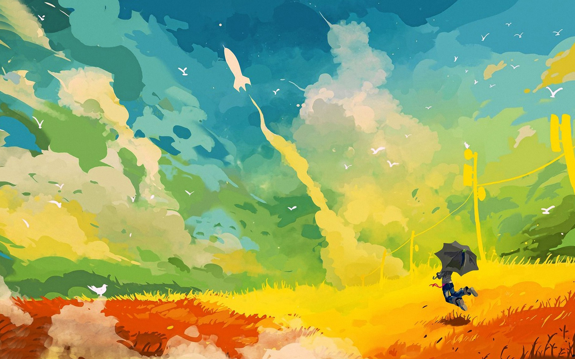 abstract painting wallpaper which is under the abstract wallpapers 1920x1200