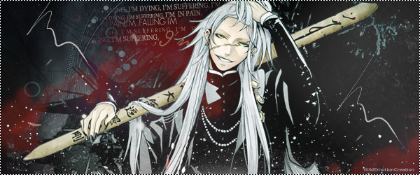 Undertaker Wallpaper Black Butler By 600x250