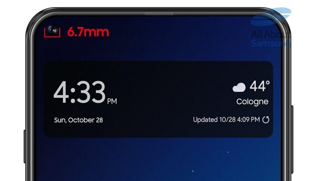 Samsung Galaxy S10 to be similar as Galaxy A8s design Samsung 1024x585