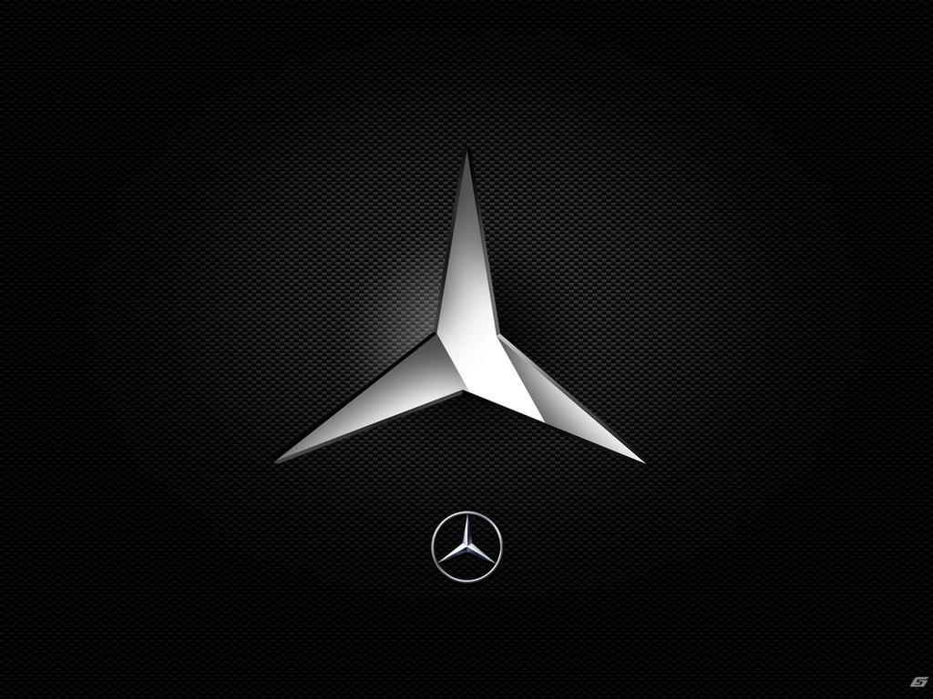 Mercedes Logo Wallpaper 1024x768