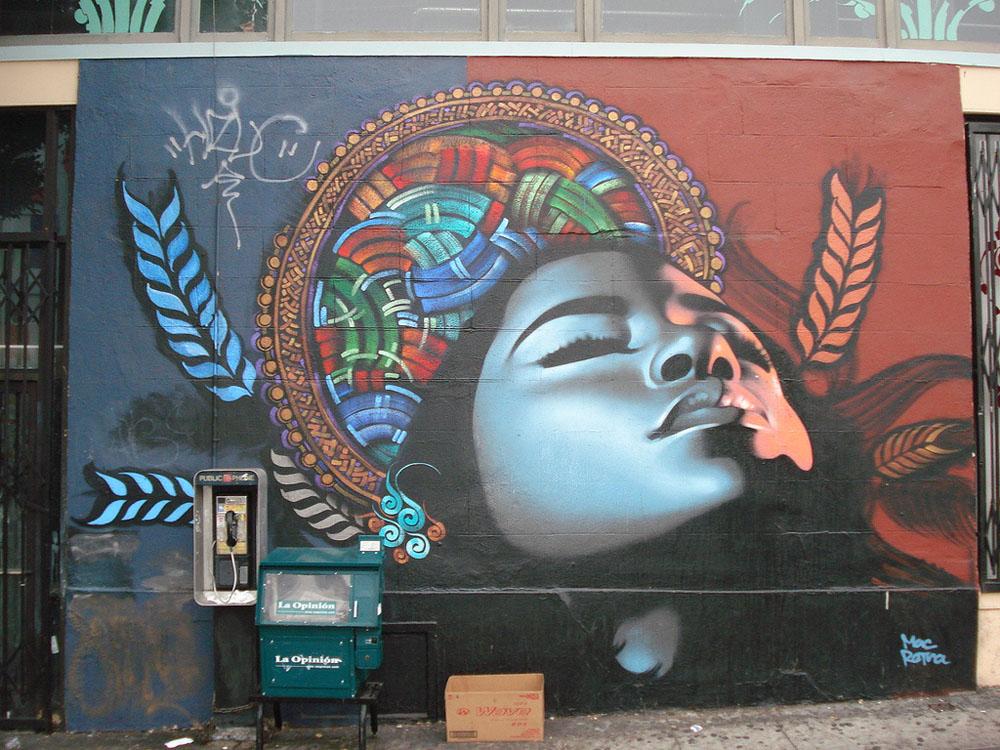 Graffiti Murals Mac   graffiti art   light 1000x750