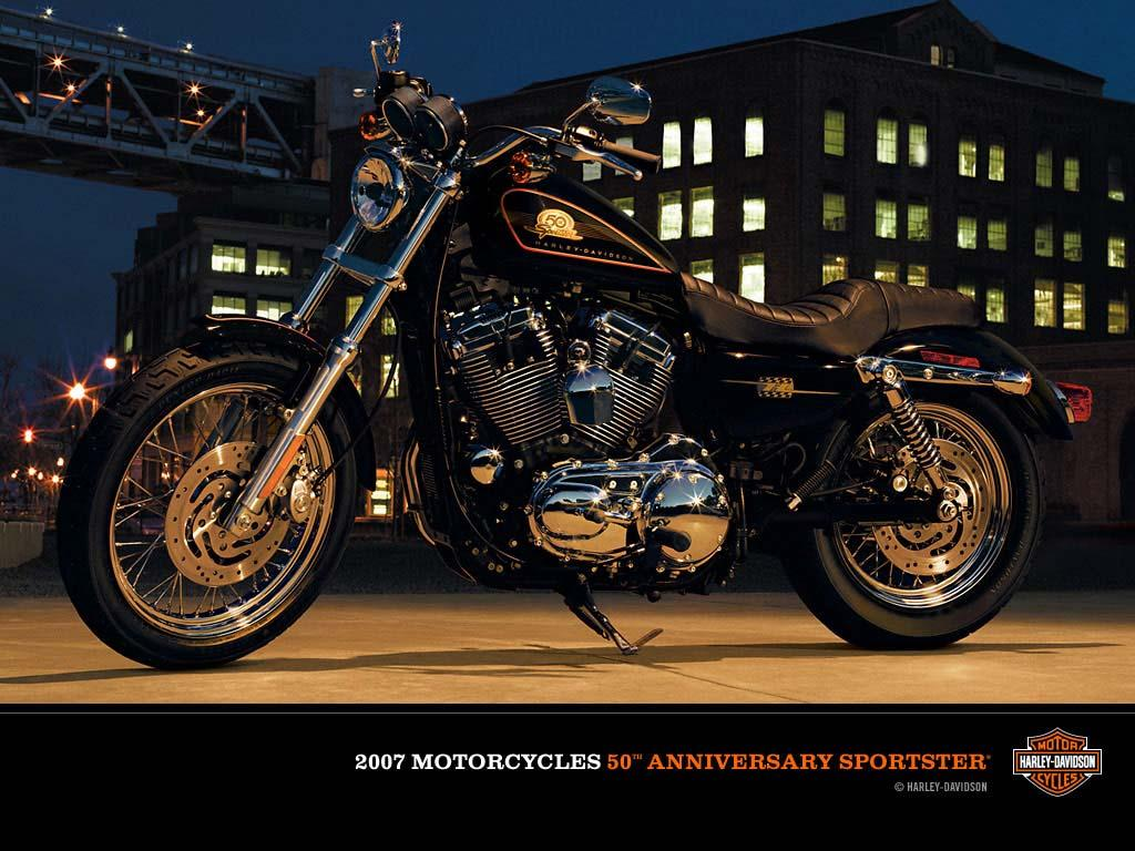 Harley Davidson XL50 Sportster aniversio 50 anos Sportster [1024x768 1024x768