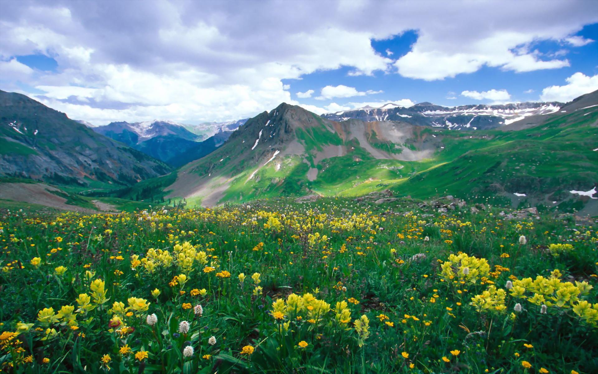 Basin Ouray Colorado   Around The World Photography Desktop Wallpapers 1920x1200