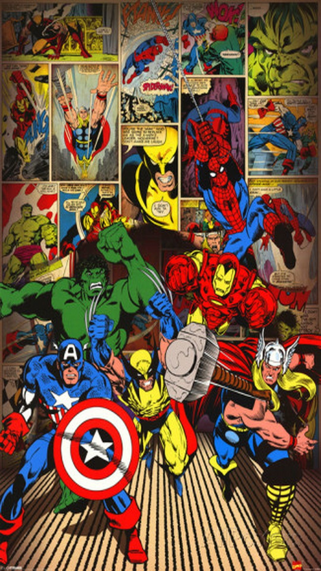 81 Marvel Iphone Wallpapers on WallpaperPlay 1080x1920