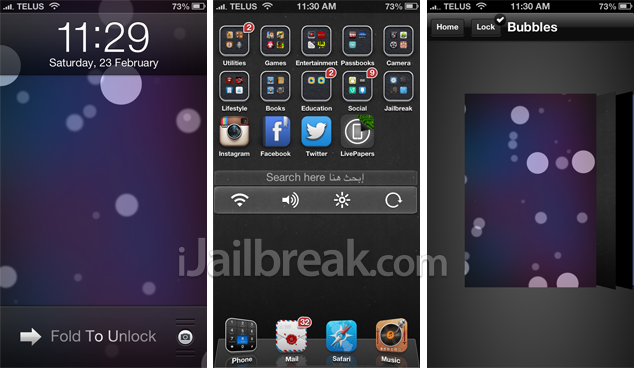 how to add a live wallpaper in the lockscreen