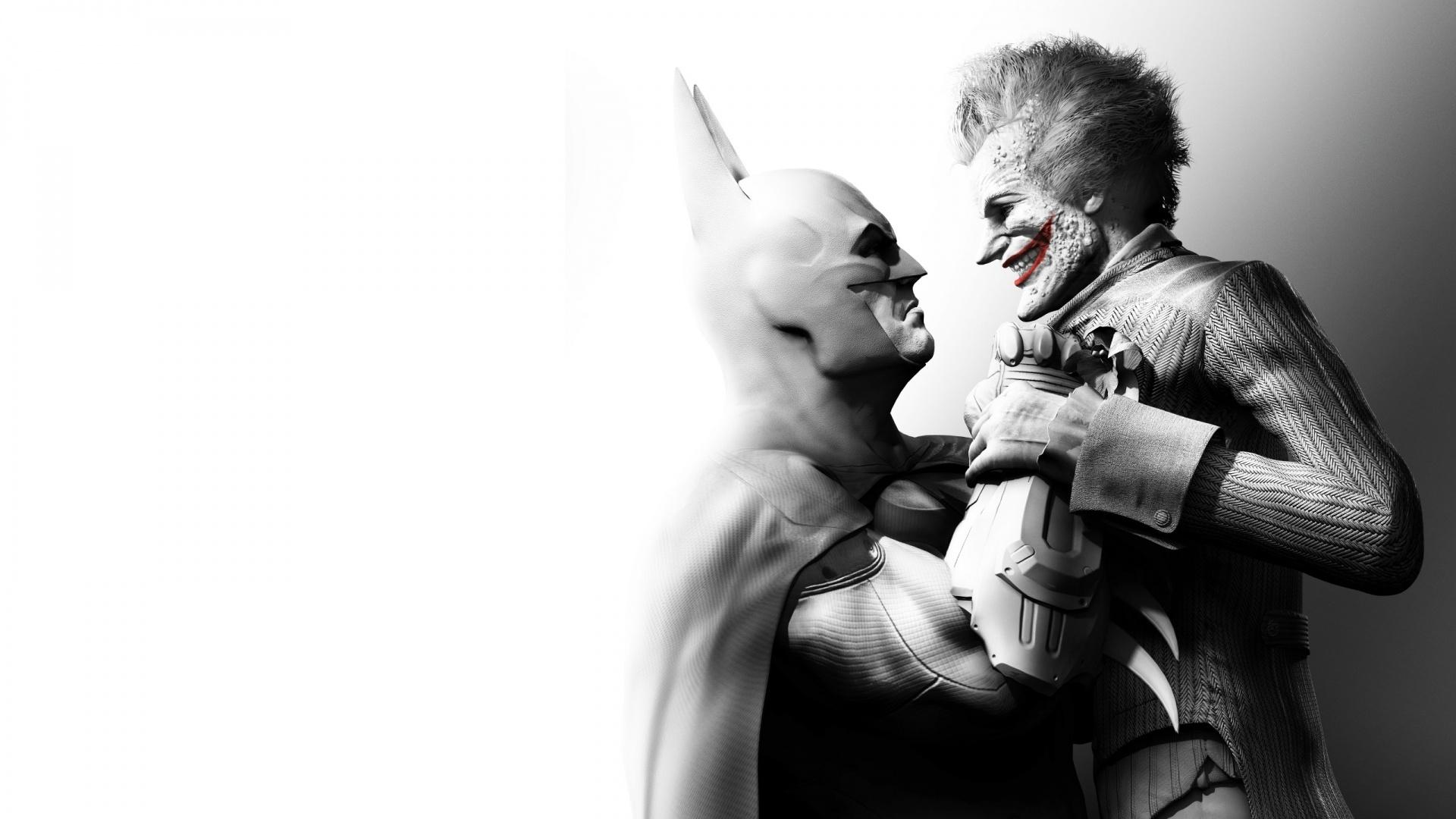 Batman and Joker Wallpaper   Windows Mode 1920x1080