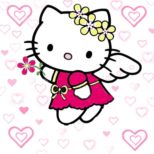 hello kitty valentines by amber eckert 25 525x524