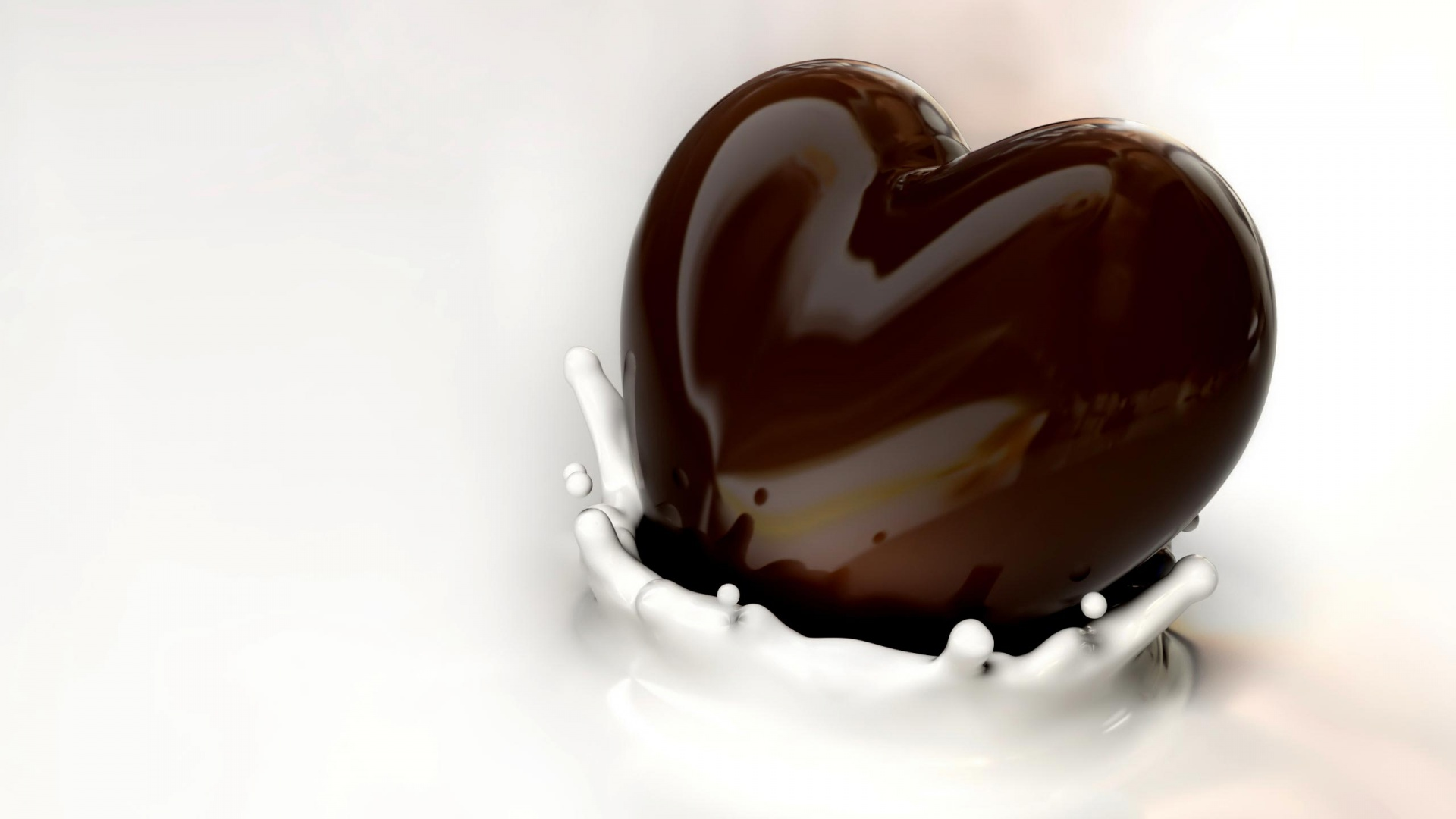Valentine Heart Chocolate Pictures HD Wallpaper of Love 1920x1080