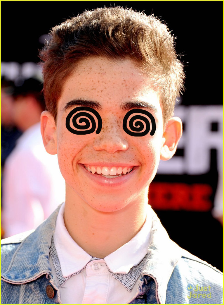 Cameron Boyce with swirly eyes by swirlyeyedactors on 767x1042