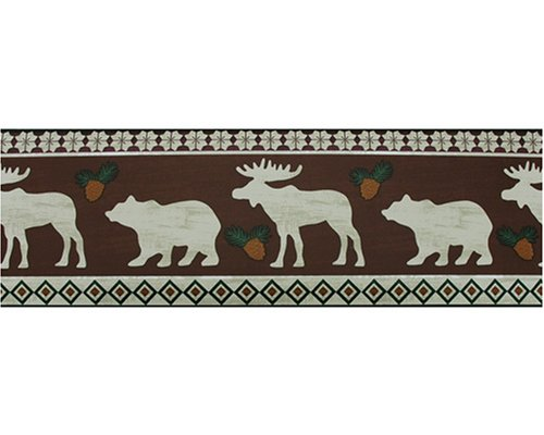 hot Black Bear Lodge wallpaper MOOSE lodge BEAR 500x400