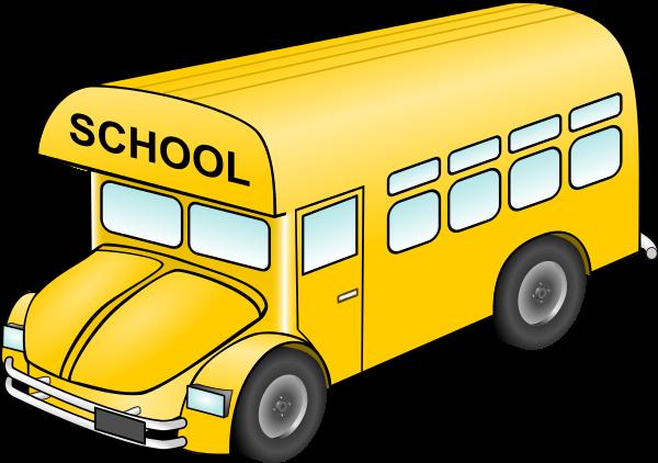 to Use Public Domain School Bus Clip Art 600x422