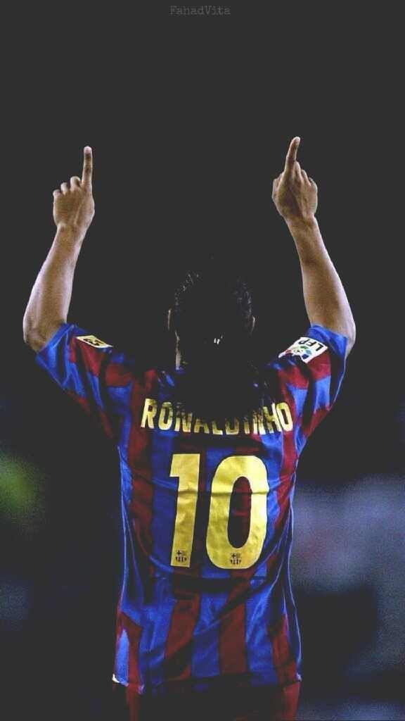Ronaldinho wallpaper Ronaldinho wallpapers Best football 576x1024