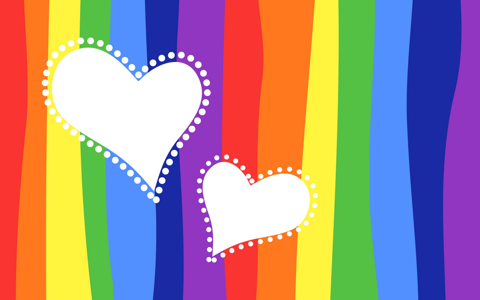 rainbow heart wallpaper wallpapersafari