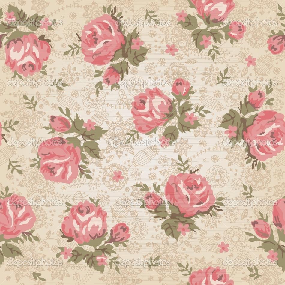Vintage Flower Wallpaper Hd Impremedia Net