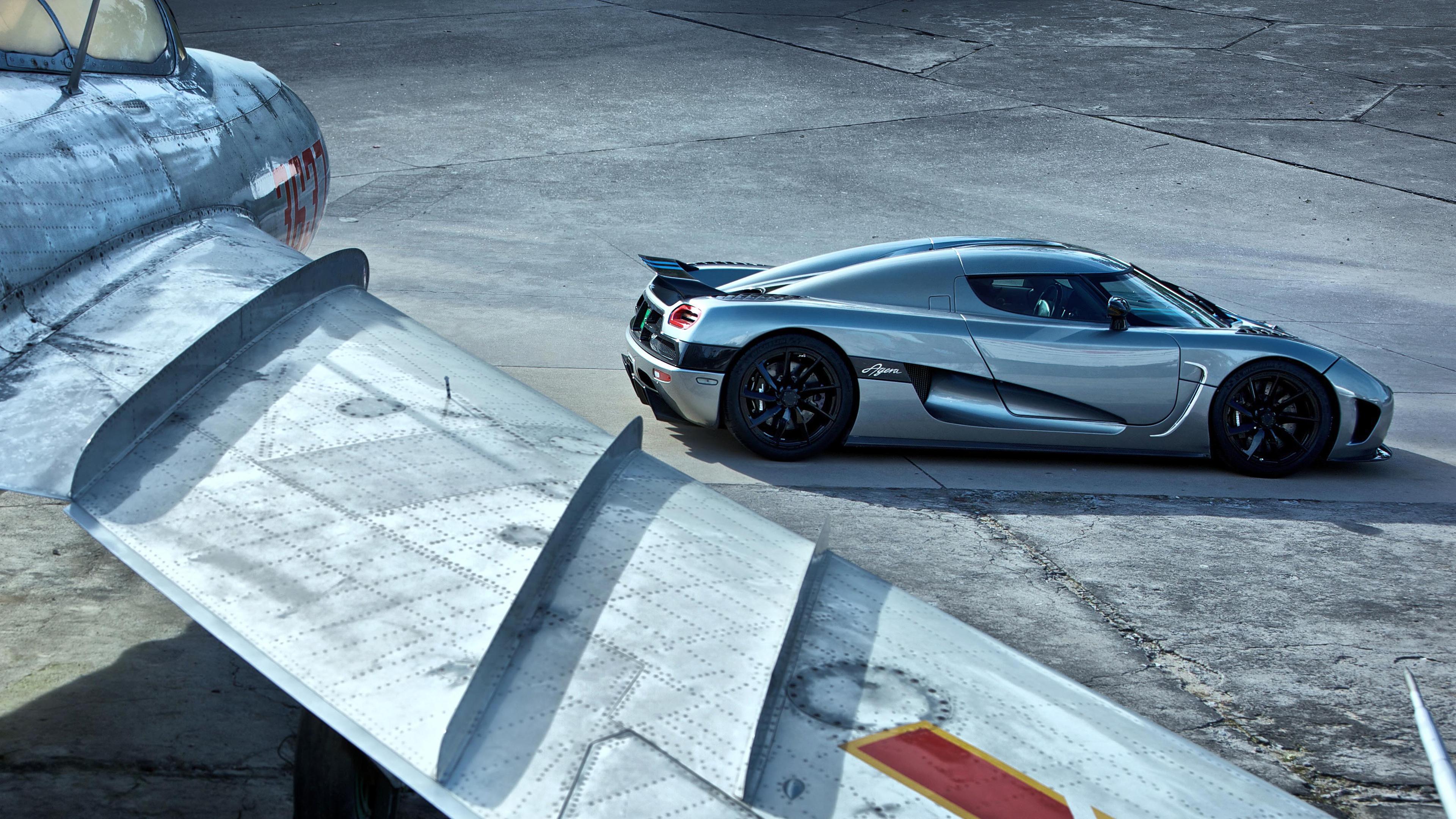 Sport Car White Wallpaper B 6214 MoshLab 3840x2160