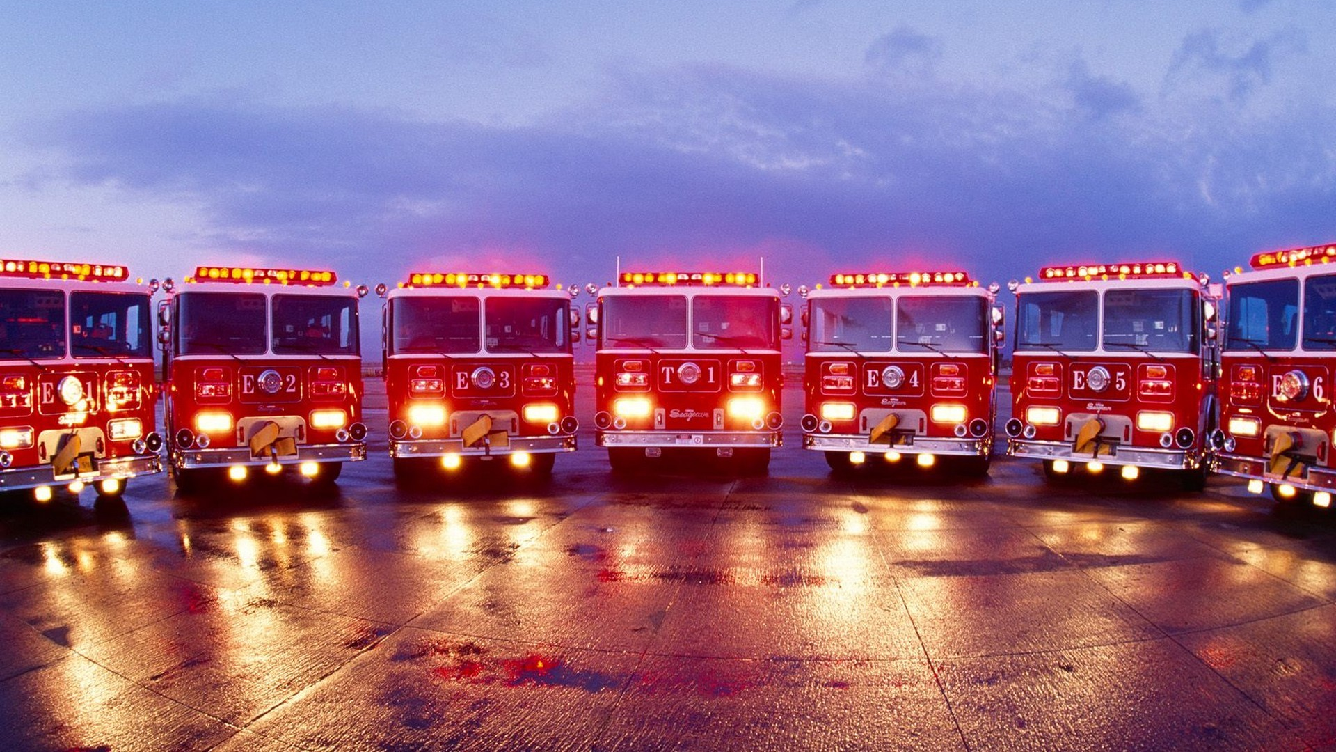Fire Truck Backgrounds for Pinterest 1920x1080