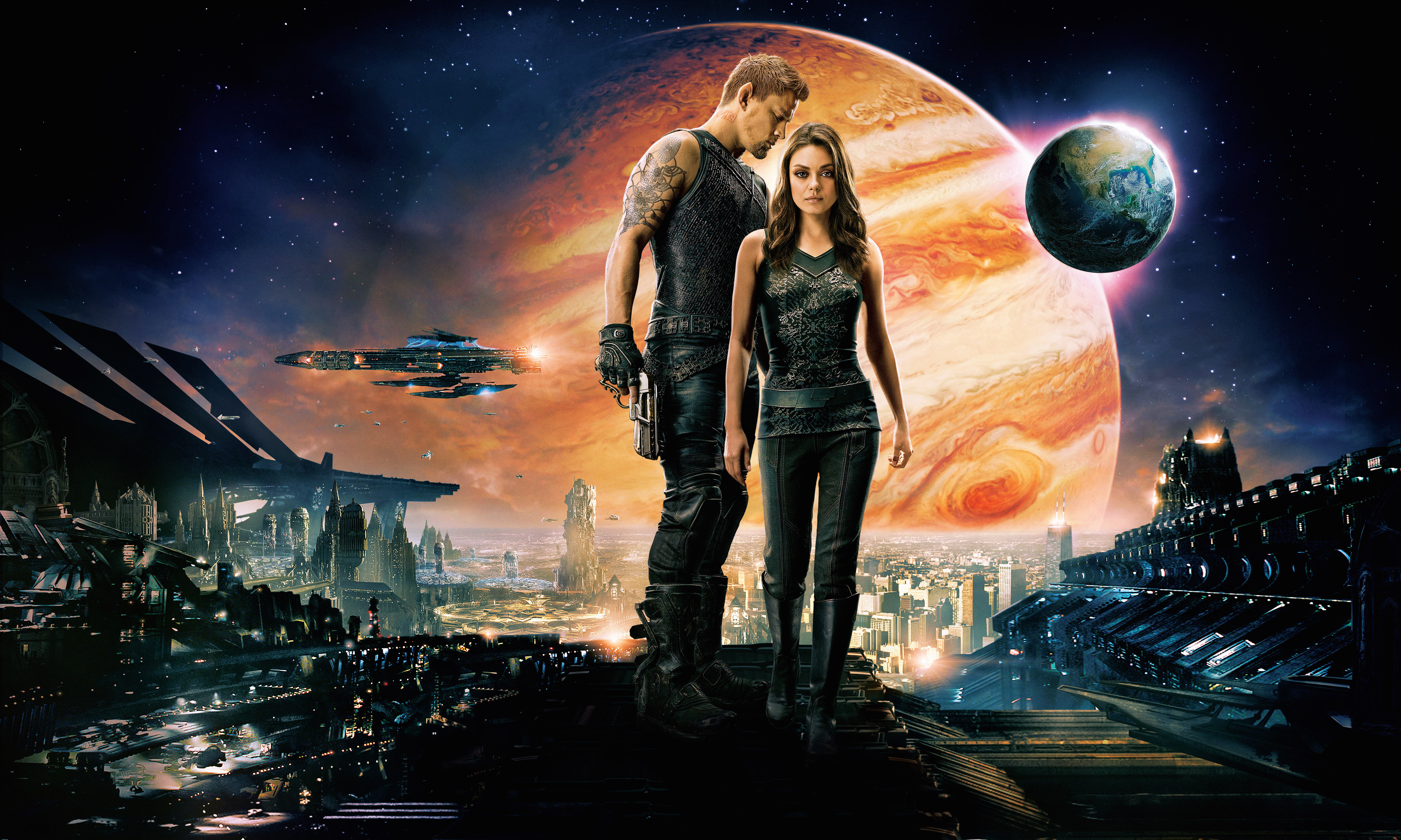 27 Jupiter Ascending HD Wallpapers Background Images   Wallpaper 5000x3000