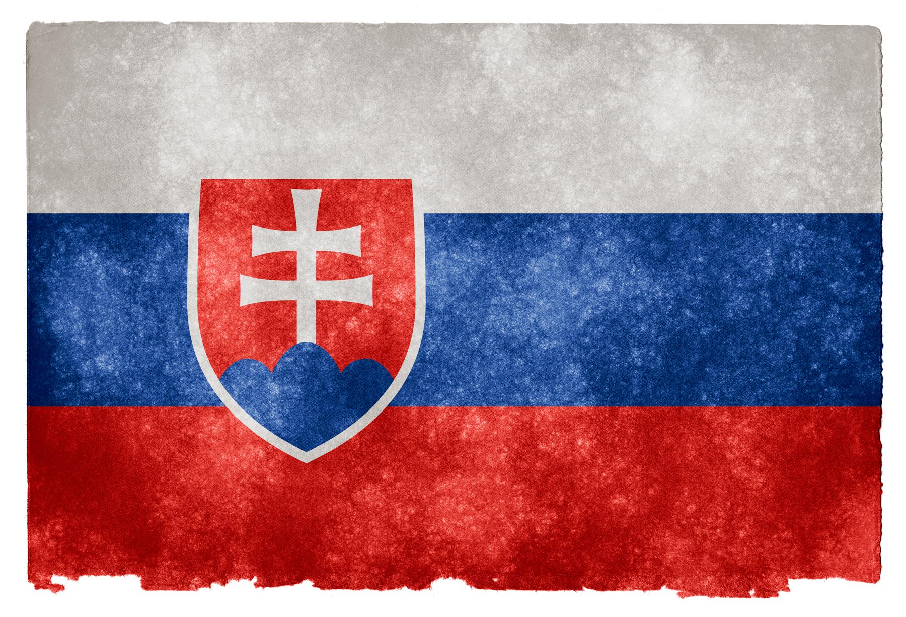 photo Slovakia Grunge Flag   Red Pride Proud 1800x1225