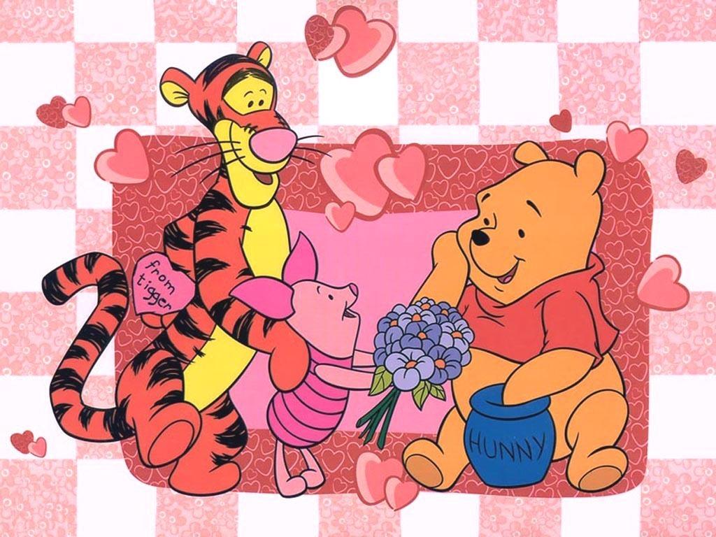 winnie the poohimages6267930titlewinnie pooh valentine wallpaper 1024x768