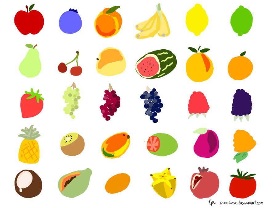 Cute Fruit Wallpaper - WallpaperSafari
