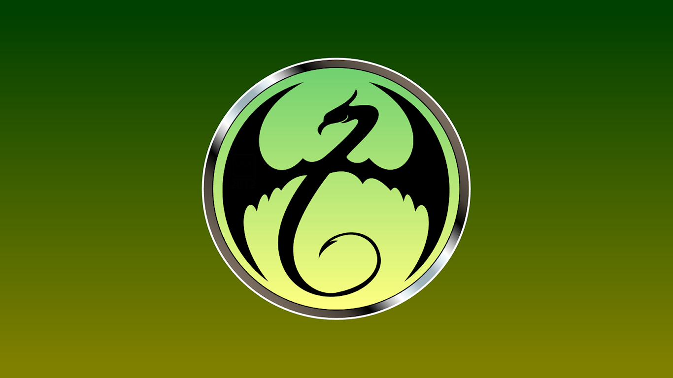 Iron Fist Symbol WP by MorganRLewis 1366x768